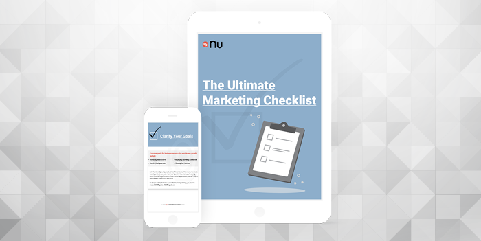 nu-marketing-checklist