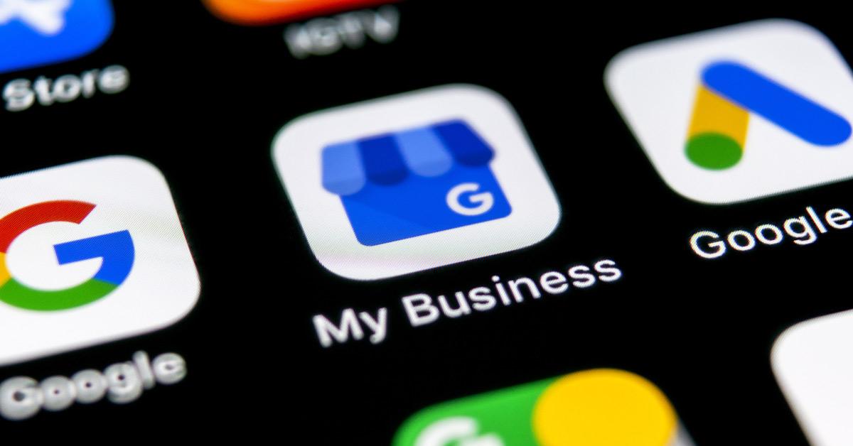 Google my business app on iphone