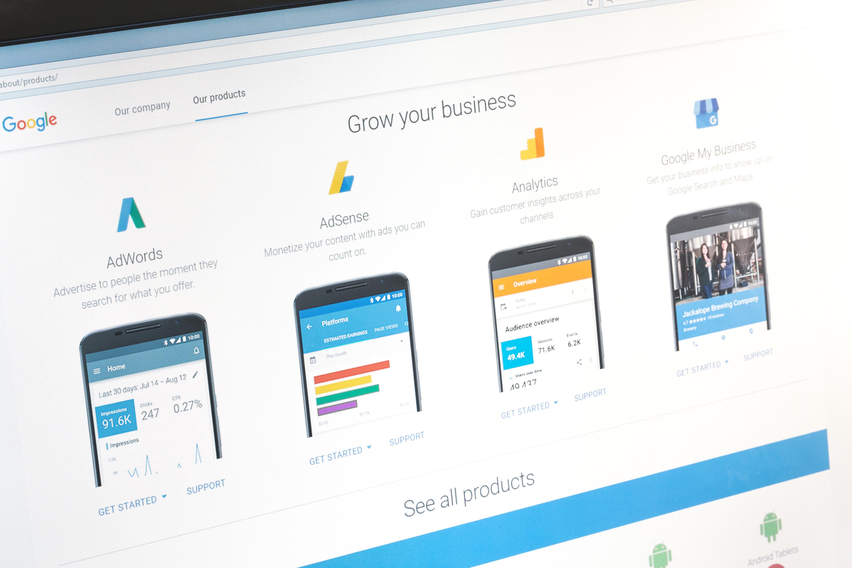 A google business profile